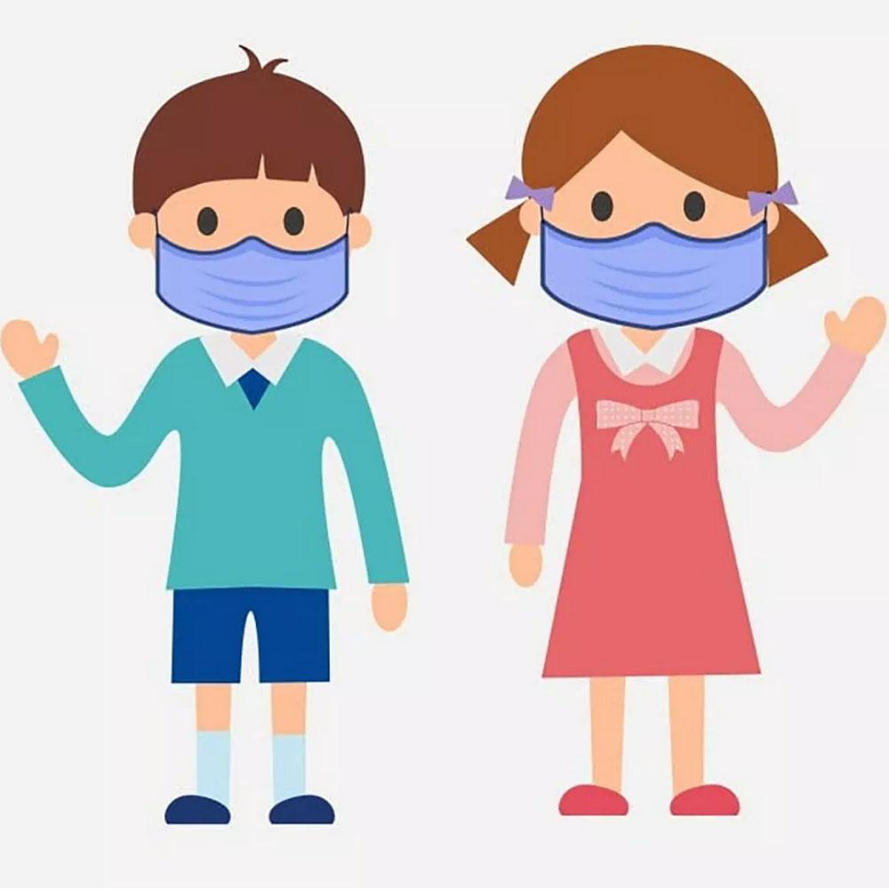 Otroška zaščitne maske